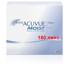 Acuvue  One Day Moist 180 pk